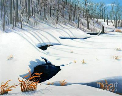 Timm Drive Ravine Art Print