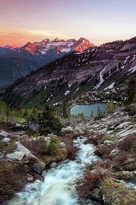 Photograph - Timp From Silver Lake. by Johnny Adolphson