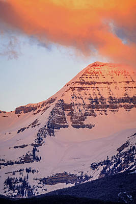 Photograph - Timpanogos East Ridge by Johnny Adolphson