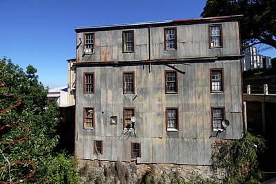 Photograph - Tin Building On The Hillside by Aidan Moran