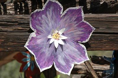 Tin Flower Art Print