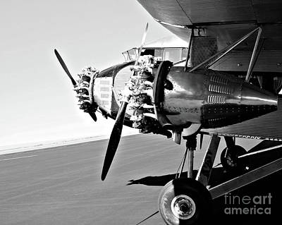 Ford Trimotor Photograph - Tin Goose 2 by Shannon Miller