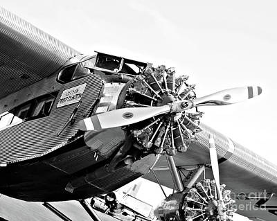 Ford Trimotor Photograph - Tin Goose by Shannon Miller