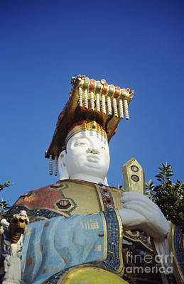 Tin Hua Temple Colorful Statue Art Print by Gloria and Richard Maschmeyer - Printscapes