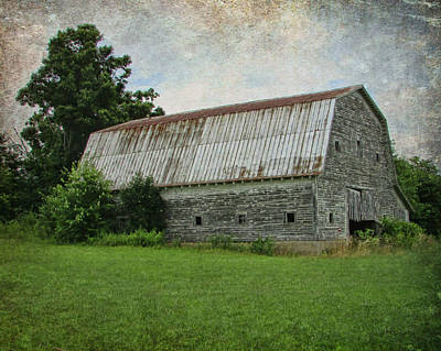 Photograph - Tin Roof Rusted by Victor Montgomery