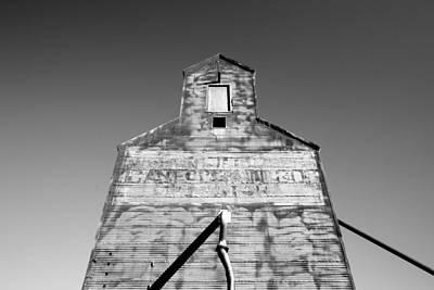 Grain Elevator Wall Art - Photograph - Tin Roof by Todd Klassy