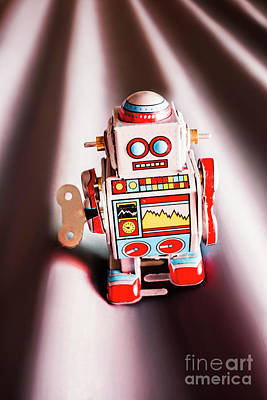 Tin Toys From 1980 Art Print