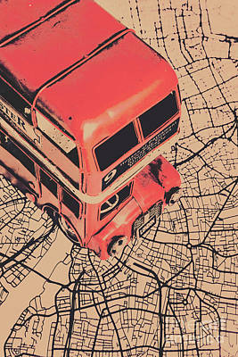 Art Wall Street Wall Art - Photograph - Tin Travel Tour by Jorgo Photography - Wall Art Gallery