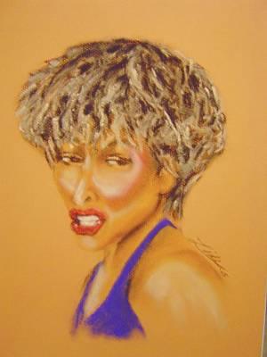 Tina Turner Painting - Tina by Janie Thompson-lide