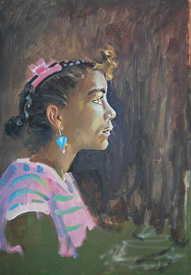 Painting - Tina by Len Stomski