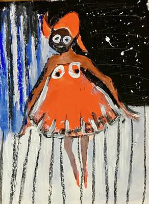Painting - Tina Tiny Legs by Carole Johnson