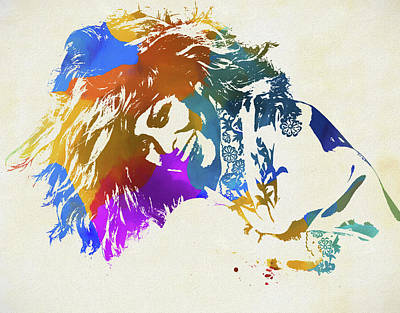 Music Paintings - Tina Turner by Dan Sproul