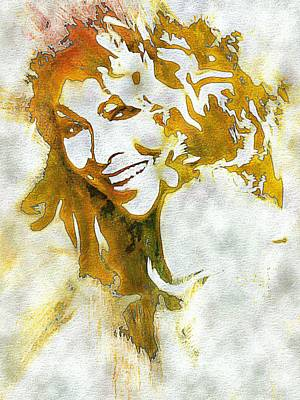 Digital Art - Tina Turner by Lynda Payton
