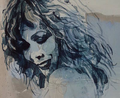 American Songwriter Wall Art - Painting - Tina Turner  by Paul Lovering