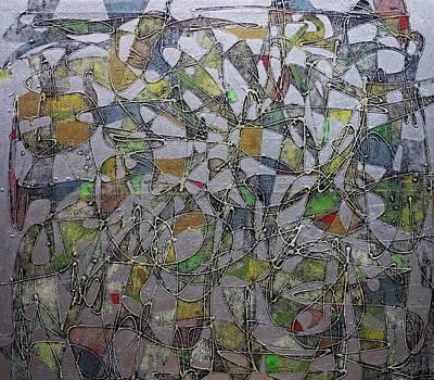 Painting - Tings-a-gwan by Ronex Ahimbisibwe
