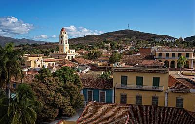 Skyline Photograph - Trinidad Cuba Cityscape by Joan Carroll
