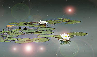 Tinker Bell's Pond Art Print