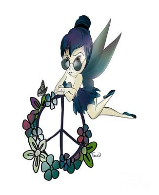 Tinky Fairy Art Print by Tami Dalton