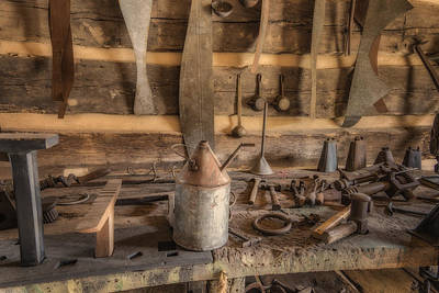 Photograph - Tinsmith Tools Hermann Farm Mo_dsc2820_16 by Greg Kluempers