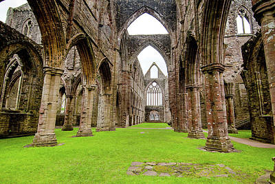 Photograph - Tintern Abbey by Greg Fortier