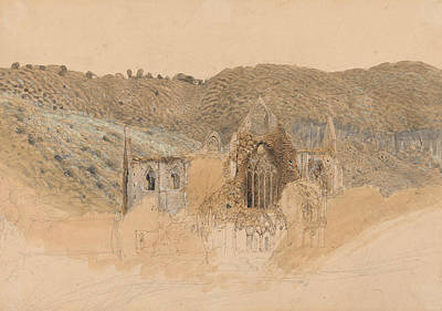 Painting - Tintern Abbey by Samuel Palmer