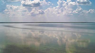 Photograph - Tints Of Turquoise. Sivash Lake, 2011. by Andriy Maykovskyi