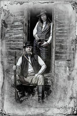 Photograph - Tintype Portrait Reproduction by Brad Allen Fine Art