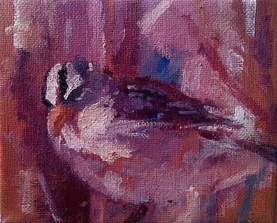 Painting - Tiny Bird Study #1 by Brian Kardell