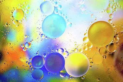 Tiny Bubbles Art Print by Ed Roth