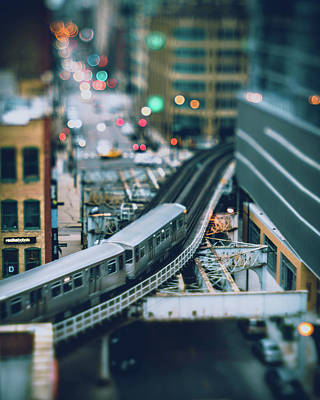 Photograph - Tiny Chicago by Nisah Cheatham