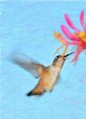 Tiny Dancer Art Print by Betty LaRue
