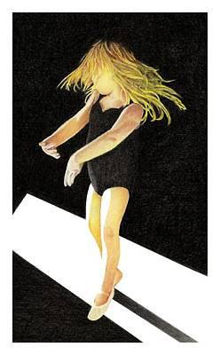 Dancer Mixed Media - Tiny Dancer by Lyle Brown