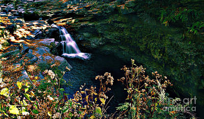 Art Print featuring the photograph Water Falls by Raymond Earley