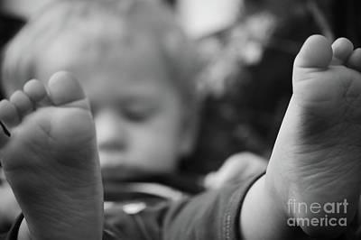 Photograph - Tiny Feet by Robert Meanor