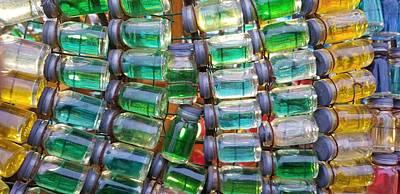 Photograph - Tiny Glass Jars by Britten Adams