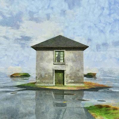 Miniature Digital Art - Tiny House 1 by Cynthia Decker