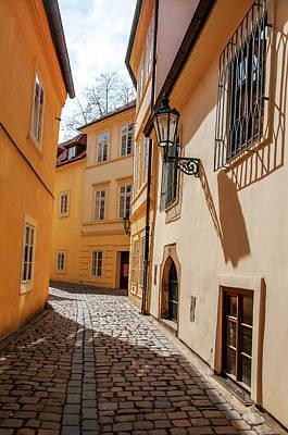 Photograph - Tiny Romantic Streets Of Prague. Rasnovka 2 by Jenny Rainbow