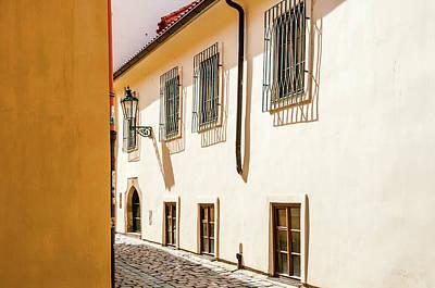 Photograph - Tiny Romantic Streets Of Prague. Rasnovka by Jenny Rainbow