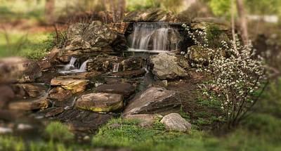 Photograph - Tiny Stream by Angie Tirado