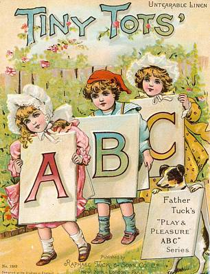 Tiny Tots Abc Book Original by Reynold Jay