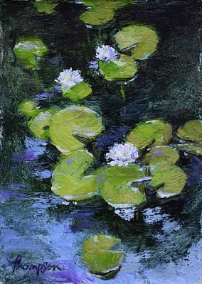 Tiny Water Lilies Original