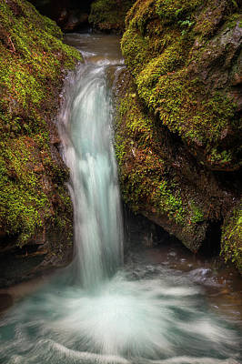 Photograph - Tiny Waterfall by Jenny Rainbow