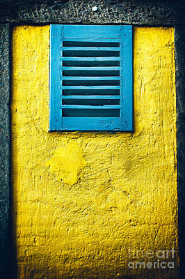 Photograph - Tiny Window With Closed Shutter by Silvia Ganora