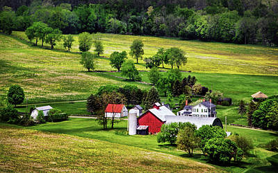 Photograph - Tioga County Farmstead by Carolyn Derstine