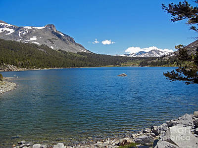 Photograph - Tioga Lake Ca by Cindy Murphy - NightVisions