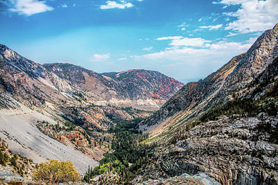 Photograph - Tioga Pass by Kristia Adams