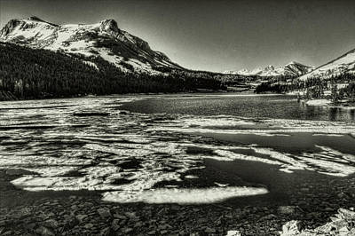 Photograph - Tioga Pass Lake Ellery Early Summer by Roger Passman
