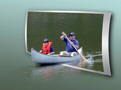 Photograph - Tip A Canoe And Tyler Too by Brian Wallace