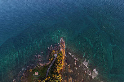 Photograph - Tip Of Borneo View Point From Above, Malaysia by Pradeep Raja PRINTS