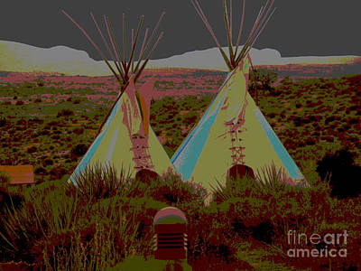 Photograph - Tipi Boulevard by Angela L Walker
